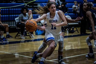 2020-21 Varsity Girls Basketball vs. Haralson County - Photographer - Makenzie Cochran
