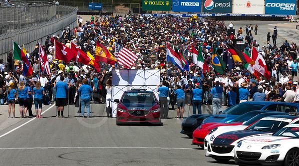 American Le Mans Series at Mazda Raceway Laguna Seca May 9-11, 2013
