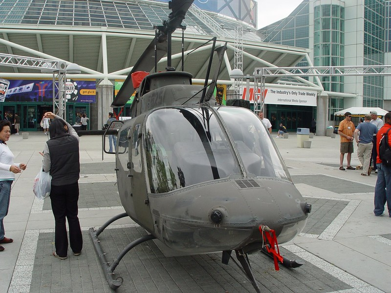 America's Army chopper on E3