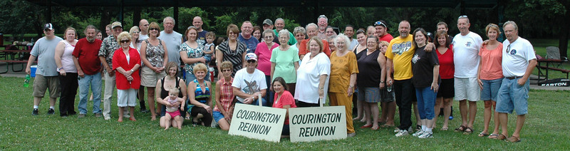Courington / Oliver Reunion 8/8/10