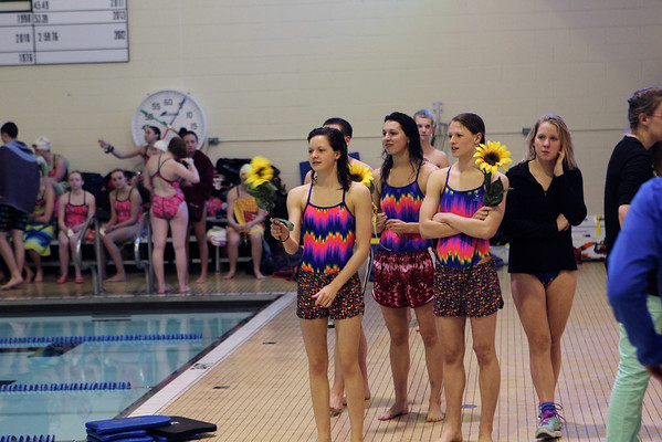 2014 MNHS Swim Dive Senior Night