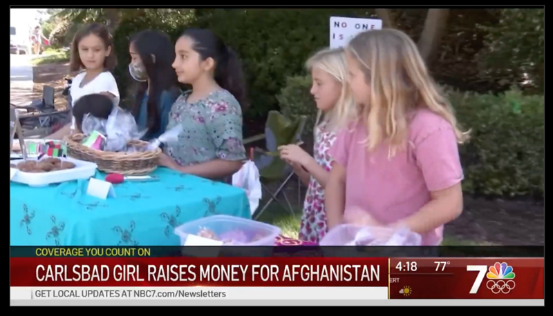 Daughter of MiraCosta College Student Raises Money for Afghanistan