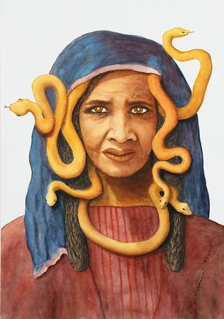 Ave Medusa by Jeanne Raines