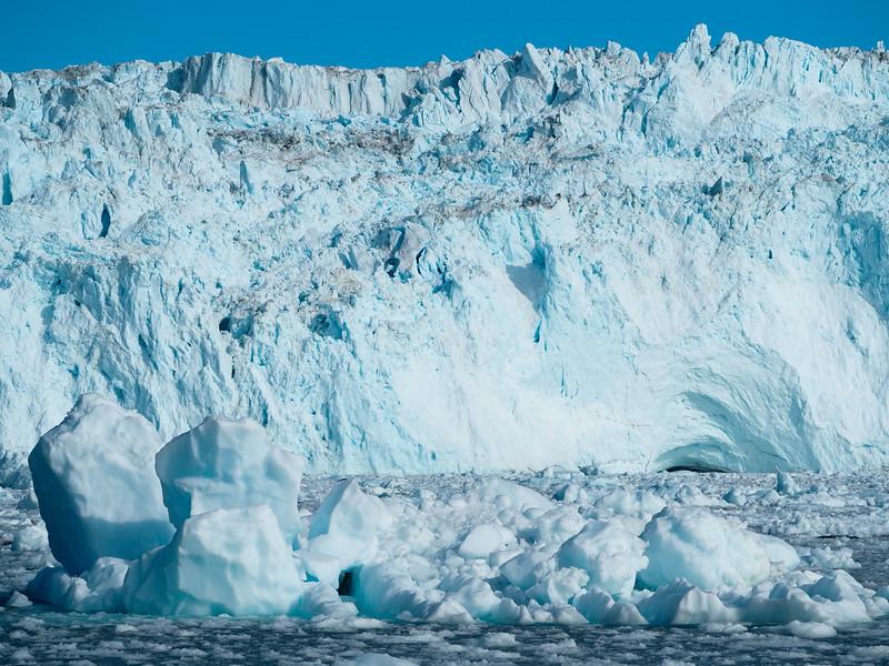 Eqip Sermia glacier in Greenland