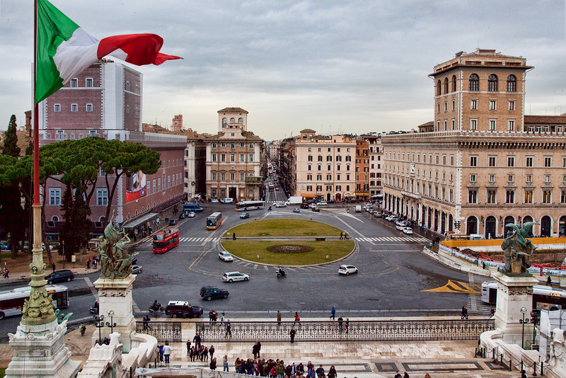 View from Monumento a Vittorio Emanuele II