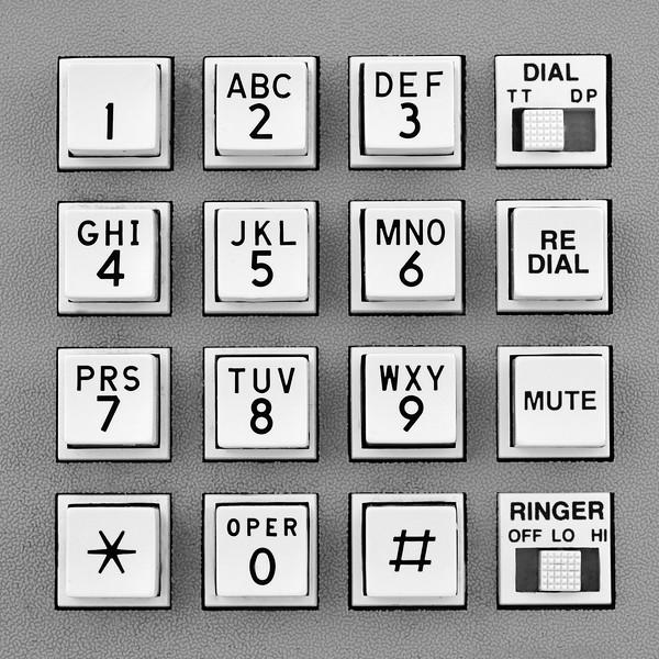 telephone touch tone keypad