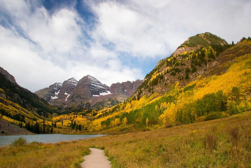 Fall at Maroon Bells, Colorado