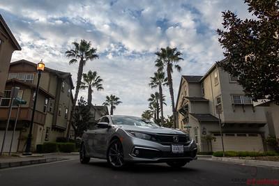 2020 Honda Civic - PPF Full Hood and Opti-Coat Pro Plus