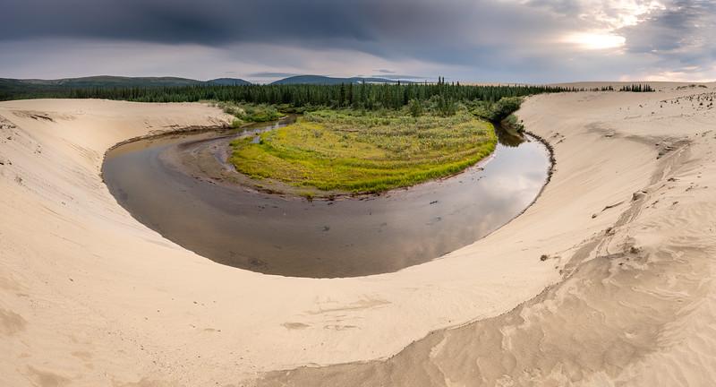 Oxbow Bend in the Niatuvik Creek