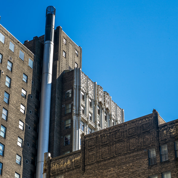 Low angle view of buildings against sky, Minneapolis, Hennepin County, Minnesota, USA
