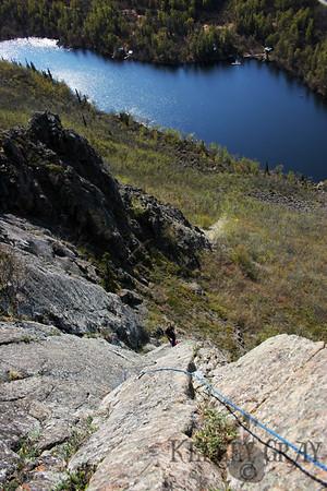 Ravine Lake Climbing w/ Dane Ketner