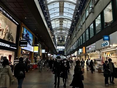 Kobe Sannomiya Center Gai, image copyright Florentyna Leow