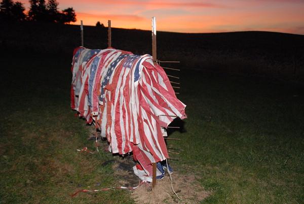 American Legion Flag Disposal Ceremony