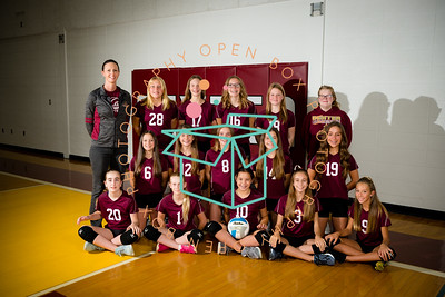 7th Grade Maroon Volleyball 2020