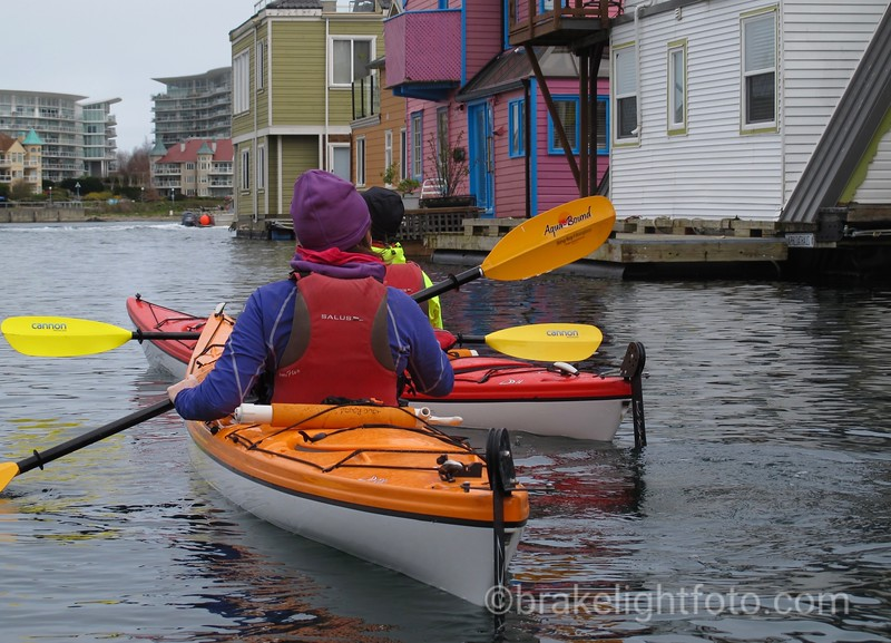 Kayakers at Fisherman's Wharf