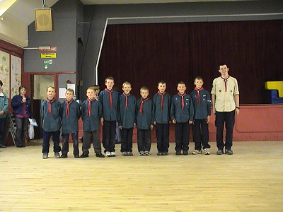2003-04-09 The Scout Troop & Investitures