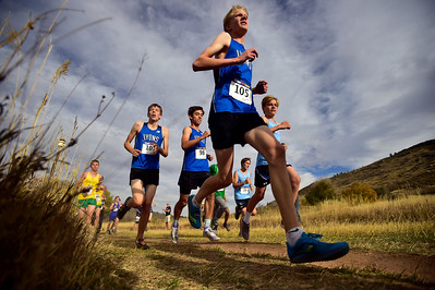 Photos: CHSAA Regional Cross-Country Meet in Lyons