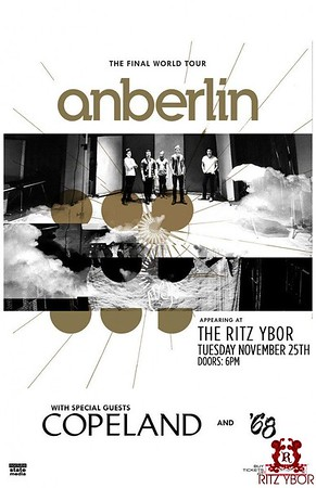 Anberlin, The Final World Tour
