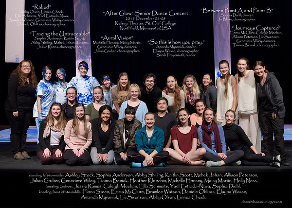 Senior Dance Concert, 2018 December