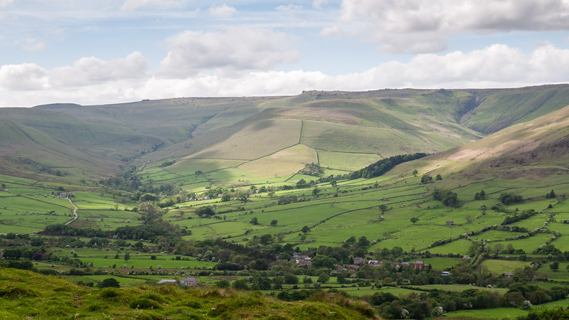 Vale of Edale and Kinder Scout