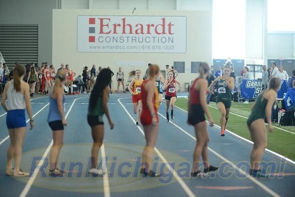 Women's 4x400 Relay - 2020 GLIAC Indoor