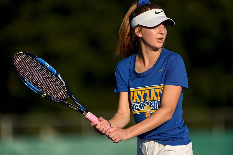 2019 Wayzata Girls Varsity Tennis vs. Eden Prairie