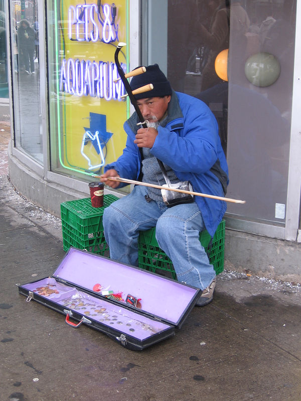 Chinatown Busker