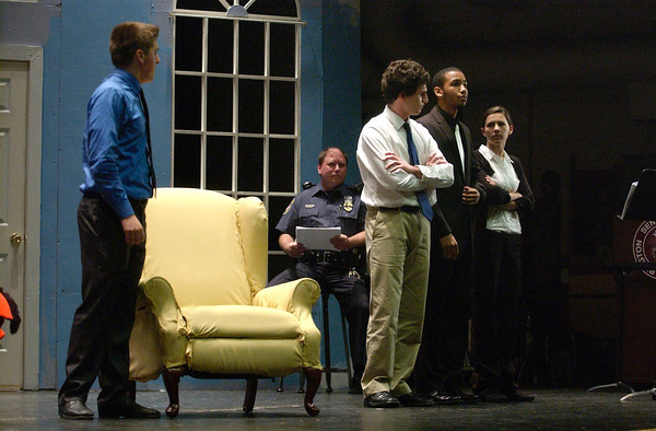 Abington PD become technical-advisors-for-a-day for 'Rumors' cast