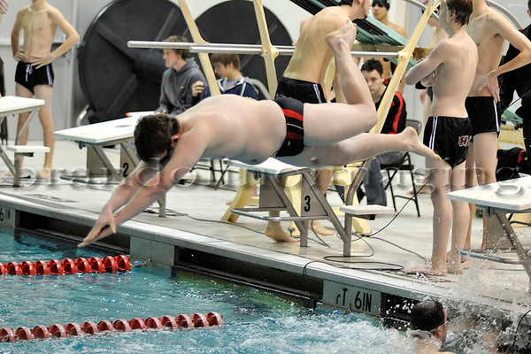 Lincoln-Way Central Boys Swimming (2012)