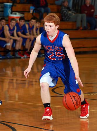 2015-16 Kane Boys JV Basketball @ Coudersport
