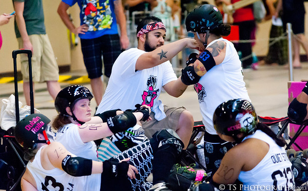 Harmageddon Scary Blossoms Roller Derby