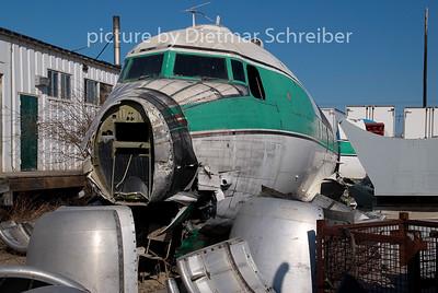 C-GQIC Douglas DC4