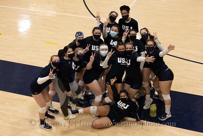 2021-04-23 USJ vs Elms College (Senior Night)