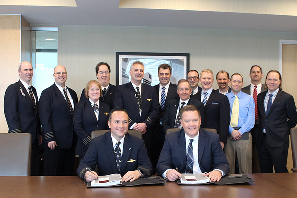 2018 Amended Agreement Signing Ceremony