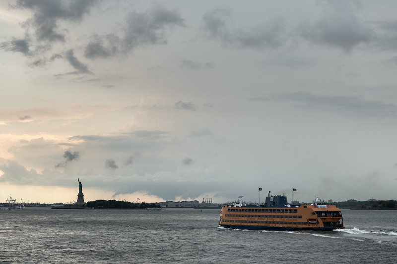 Staten Island Ferry - New York, NY, USA - August 19, 2015