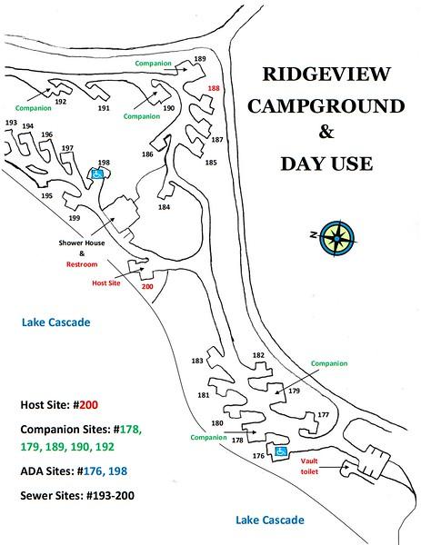 Lake Cascade State Park (Ridgeview Campground)