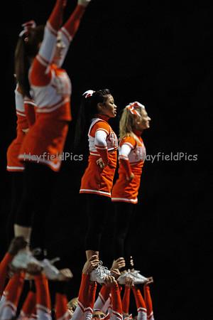 Cheerleaders Madison 9/16/11