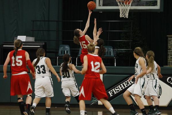 Sheridan @ Fisher Catholic Varsity Girls