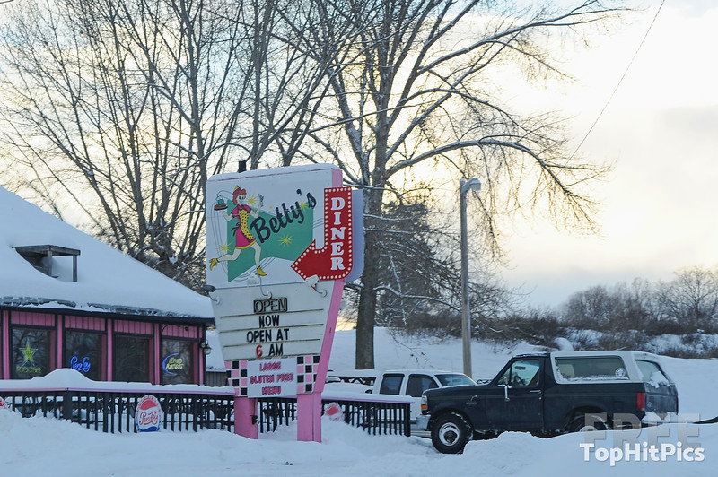 Betty's Diner in Polson, Montana, USA