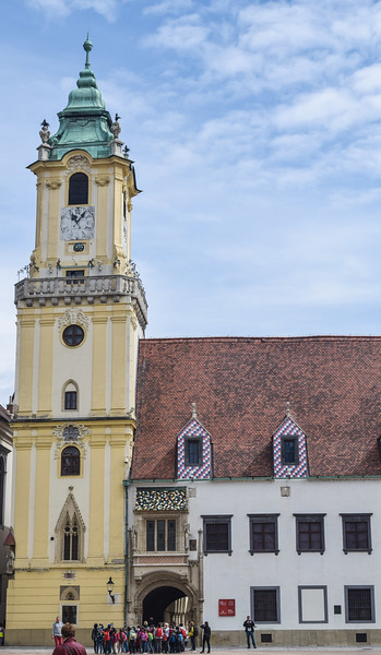 Bratislava: Old Town Hall (tower originally constructed 1370)