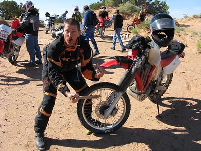 ADV Badlands-Rainbow area DS Ride  8-10-08