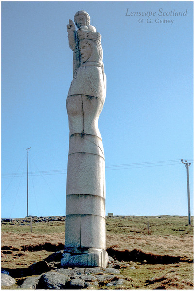 Our Lady of the Isles statue, Rueval (1996)
