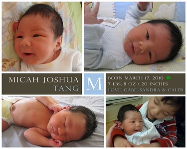 Micah's Birth
