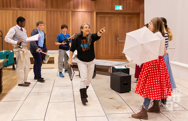 """""""The Pirates of Penzance"""" Rehearsals in Full Swing"""