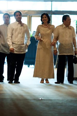 De Aquino and Moreno Reception