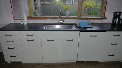 Kelowna kitchen progress - June 21