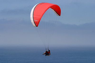 Paragliding at Torrey Pines Glider Port