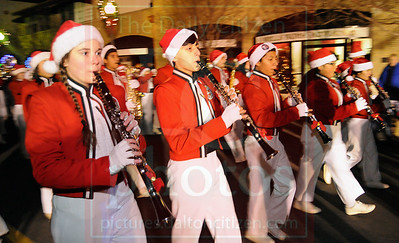 Christmas parade in Dalton 12/12/13