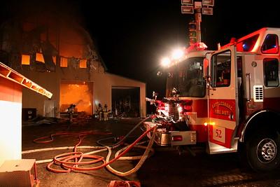 Assist to Rattlesnake CR-174 Barn Fire