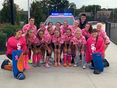 Somerset Berkley Regional High School Field Hockey Pink Out - 10.07.2019